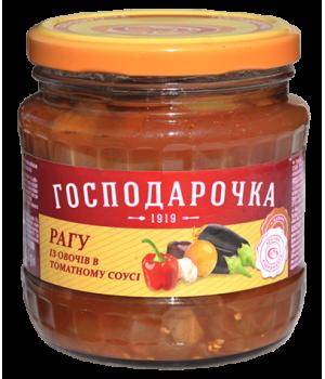 """Рагу з овочів """"Господарочка"""" в томатному соусі 420 г (4820024797726)"""