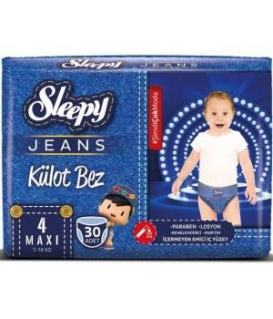 Підгузки-трусики Sleepy Jeans Jumbo maxi 7-14 кг 30шт.