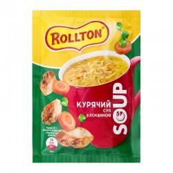 Суп Курячий Rollton з локшиною 17г