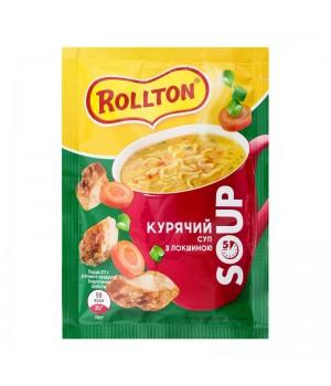 Суп Курячий Rollton з локшиною 17г (4820179254358)