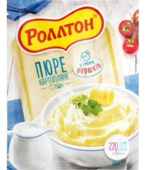 Пюре картопляне Rollton зі смаком вершків 60 г