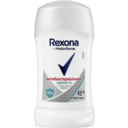 Дезодорант-антиперспірант Rexona Motionsense Антибактеріальна свіжість 40 мл (46186263)