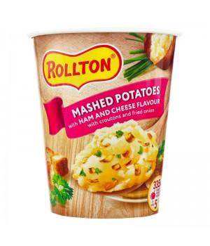 Пюре картофельное Rollton со вкусом ветчины и сыра 55 г