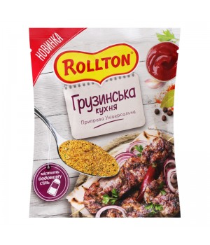 "Приправа Rollton універсальна ""Грузинська Кухня"" 60г (4820179255294)"