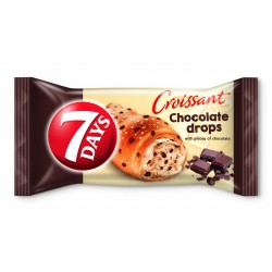Круасан 7DAYS зі шматочками шоколаду 55 г (5201360537808)