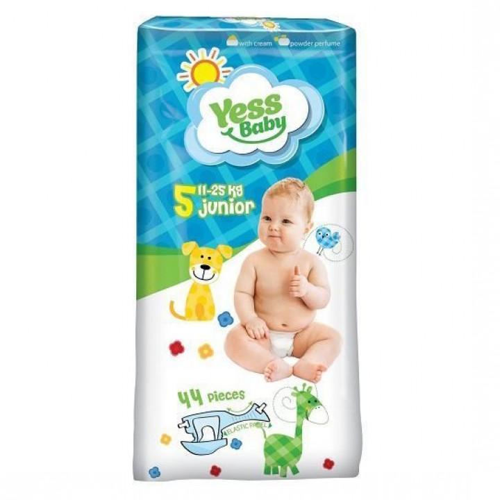 Підгузки Yess Baby Jumbo Junior 11-25 кг 44шт.