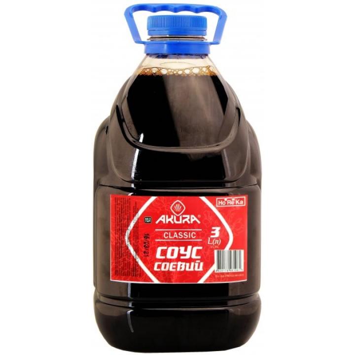 Соус соєвий Akura класичний 3 л (4820178461061)