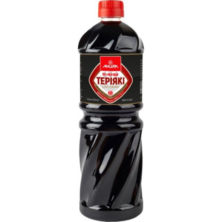 Соус соєвий Akura Теріякі 1 л (4820178461405)