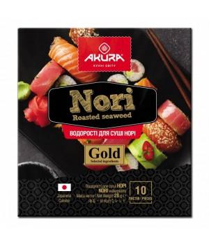 Норі Akura Gold 10 листків (4820178460538)