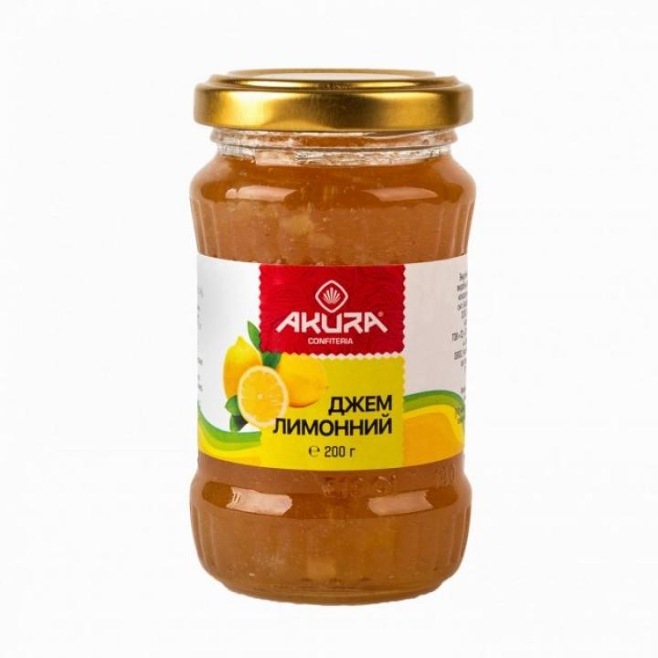 Джем лимонний AKURA 200 мл (4820178461498)