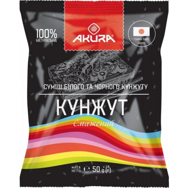 Суміш кунжуту AKURA чорний і білий 50  г (4820178460163)