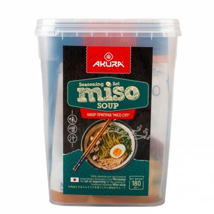 Набір інгредієнтів для приготування Місо Супу  AKURA, 180 г  (4820178462372)