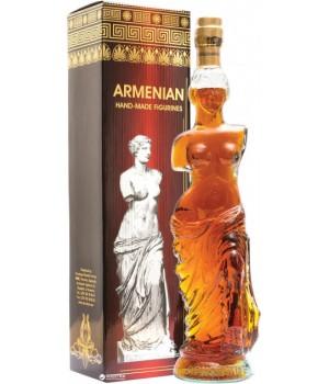 """Бренді Вірменський """"Афродіта"""" 5 років витримки 0.5 л 40% (4850015310245)"""