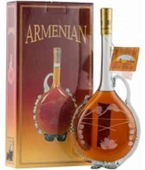 """Бренді вірменський """"Глечик"""" 5 років витримки 0.5 л 40% (4850015310269)"""