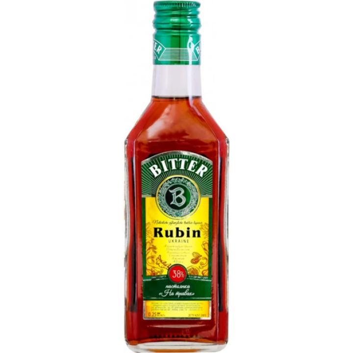 Настойка На травах Rubin Bitter 0.25 л 38% (4820136352547)