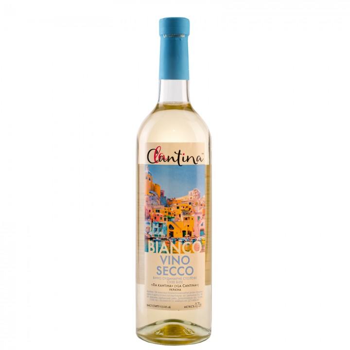 Вино La Cantina Vino Secco Bianco біле сухе 9.5-14% 0.75 л (4820136353186)
