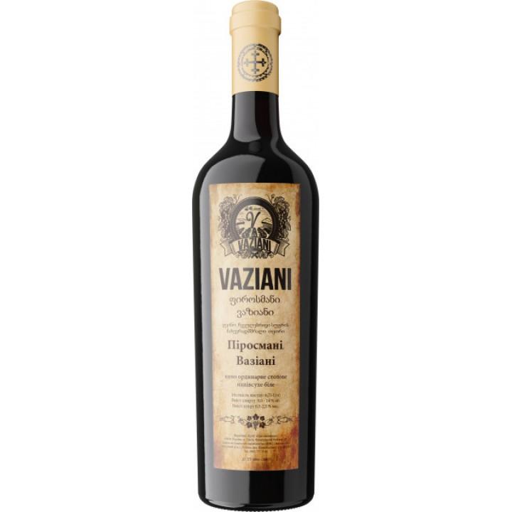 Вино Вазіані Піросмані біле напівсухе 0.75 л 9-14% (4820220040107)