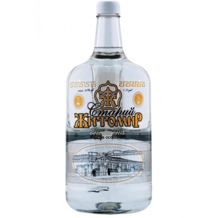 Горілка Старий Житомир оновлена 1.75 л 40% (4820001621983)
