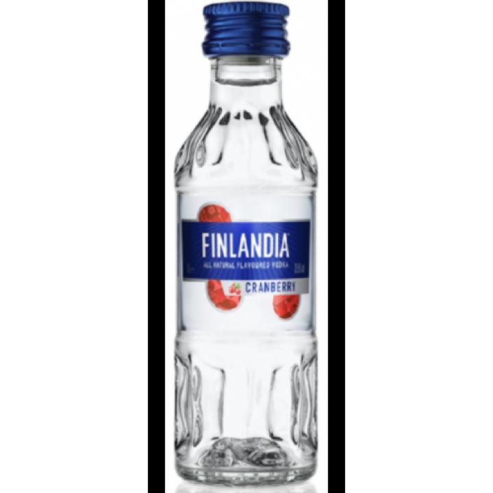 Горілка Finlandia White cranberry 0.05 л 37,5% (5099873001943)