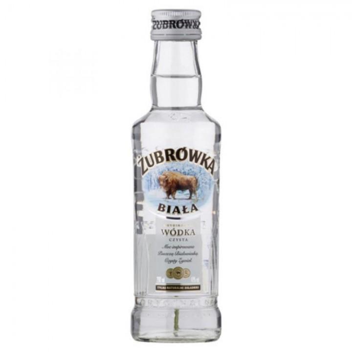 Горілка Zubrowka Biala 0,2 л 40% (5900343001854)