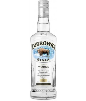 Горілка Zubrowka Biala 0.5 л 40% (5900343001892)