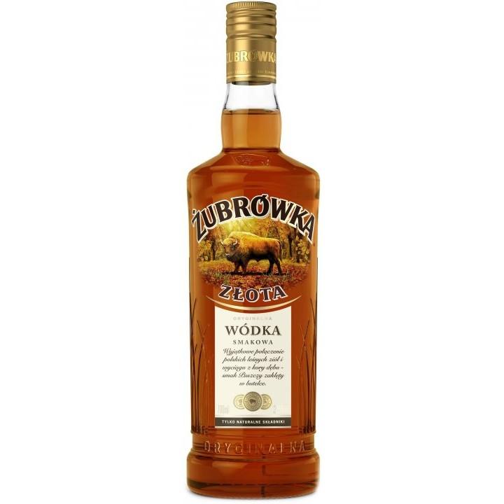 Горілка Zubrowka Zlota 0.7 л 37.5% (5900343005036)