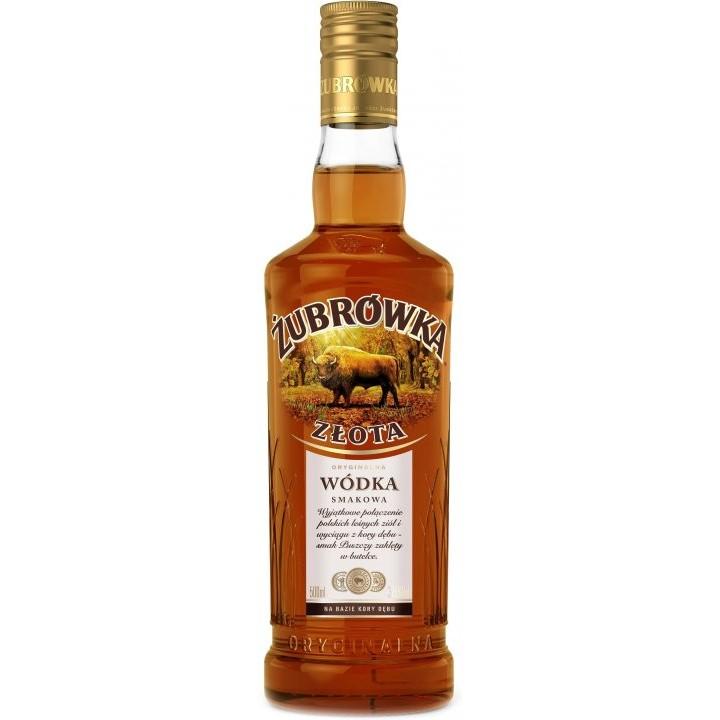 Горілка Zubrowka Zlota 0.5 л 37.5% (5900343005029)
