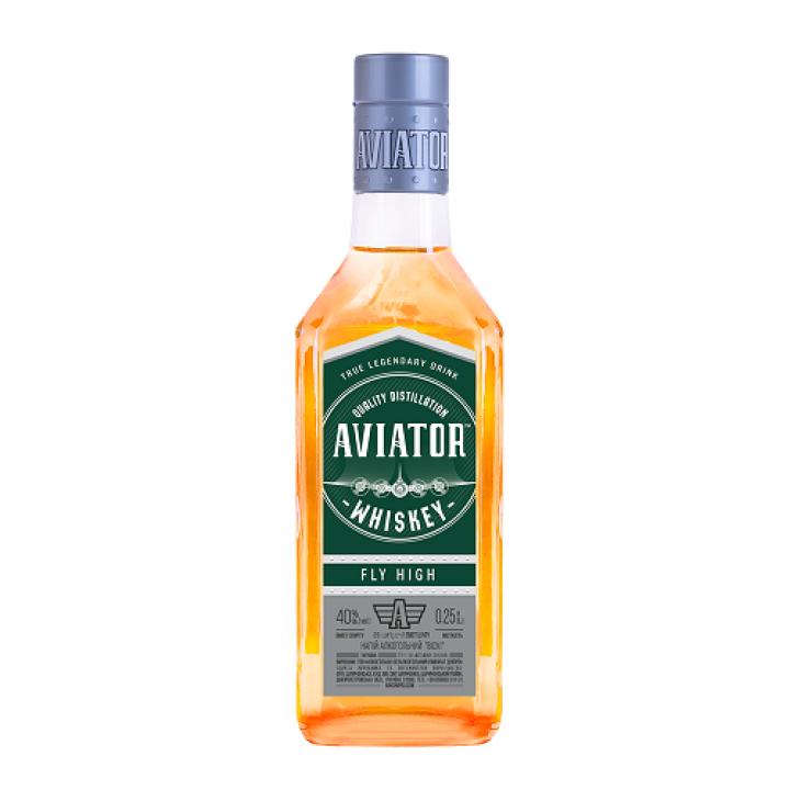 Напій алкогольний Aviator Віскі 0.25 л 40% (4820136356538)