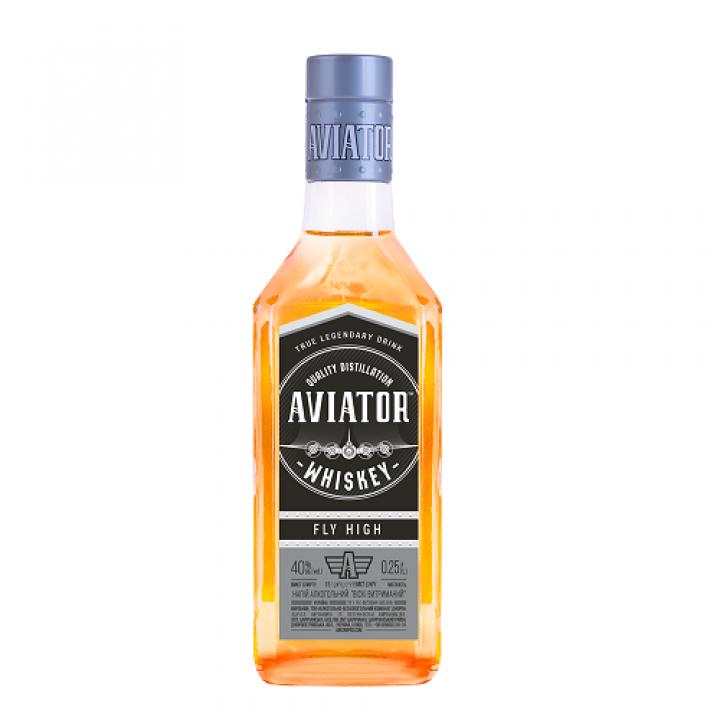 Напій алкогольний Aviator Віскі витриманий 0.25 л 40% (4820136356484)