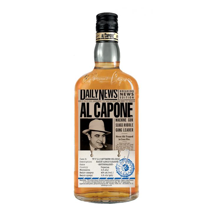 Алкогольний напій AL CAPONE Витриманий 0.5 л 40% (4820136351977)