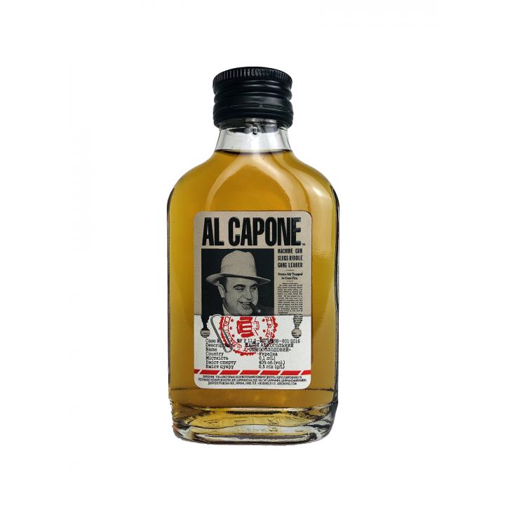 Алкогольний напій AL CAPONE односолодовий 0.2 л 40% (4820136352271)