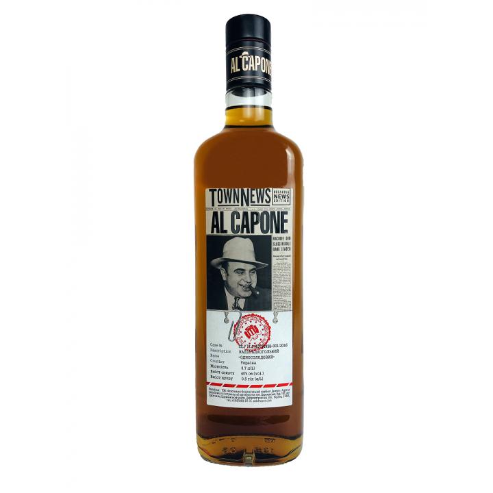 Напій алкогольний AL CAPONE односолодовий 0.7 л 40% (4820136352264)