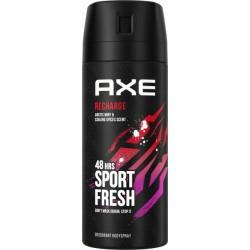 Дезодорант-спрей Axe Recharge для чоловіків 150 мл (8714100895603)
