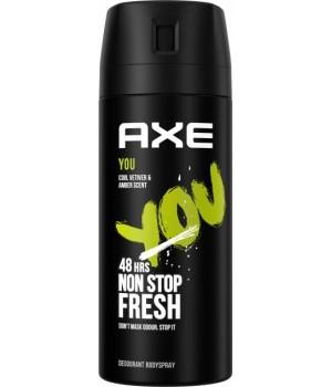 Дезодорант-спрей для чоловіків AXE You 150 мл (8690637879128)