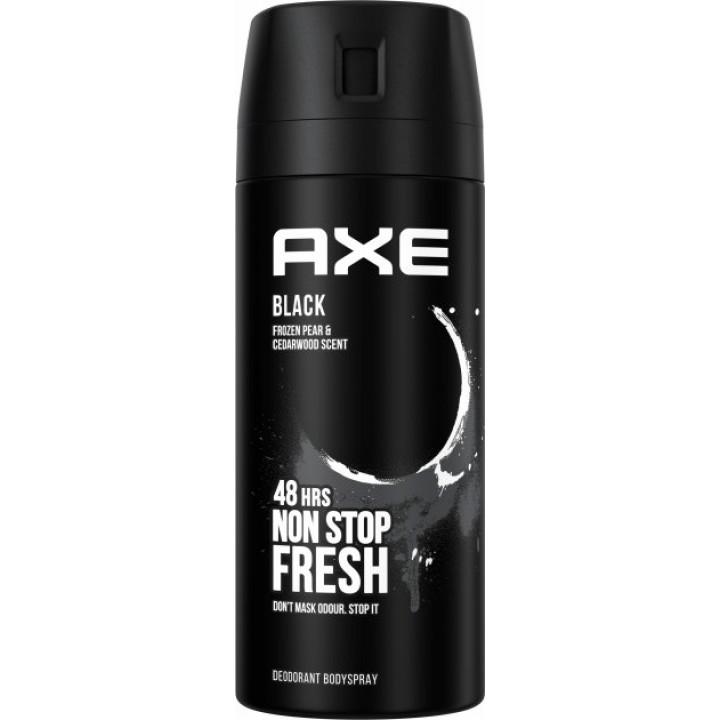Дезодорант-спрей для чоловіків AXE Блек 150 мл (8690637879180)