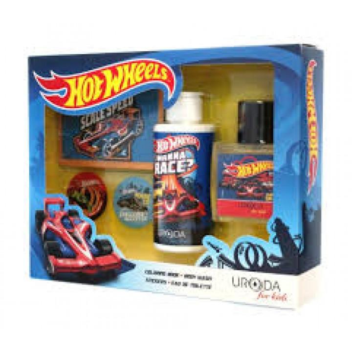 Подарунковий набір Bi-Es Hot Wheels Boy Gift Set Blu (5907554492518)