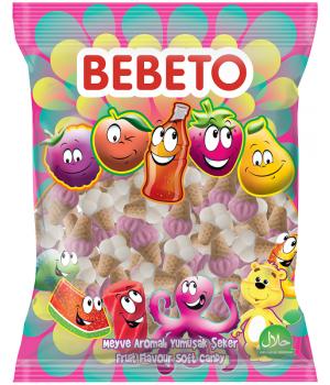 """Цукерки жувальні Bebeto """"Морозиво"""" 1 кг (8690146632917)"""