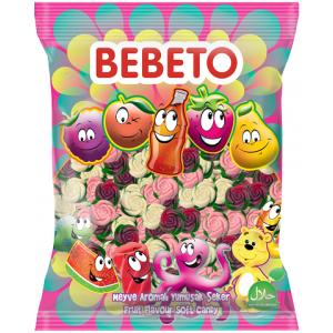 "Цукерки жувальні Bebeto ""Троянда"" 1 кг (8690146632917)"