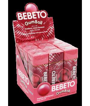 "Жувальнагумка Bebeto""Полуниця - лимон""25г x 12шт. (8690146065654)"