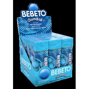 Жевательная резинка Bebeto Tutti Frutti 25г x 12 шт.