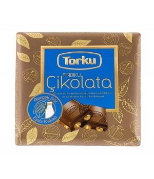 ШоколадTorkuмолочнийзфундуком 70 г (8690120041483)