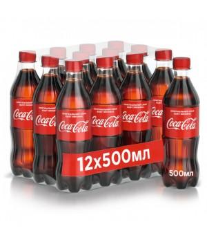Напій газований Coca-Сola 0,5 л x 12 шт. (54491472)