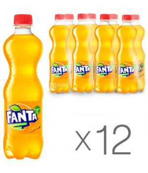 НапійгазованийFantaАпельсин0,5 л x 12 шт. (40822938)