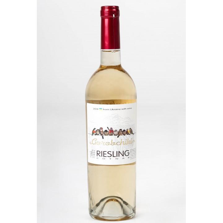 Вино GorobchikiRESLINGбілесухе0,75 л