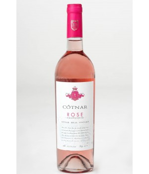 Вино CotnarROSEрожевенапівсолодке 0,375 л