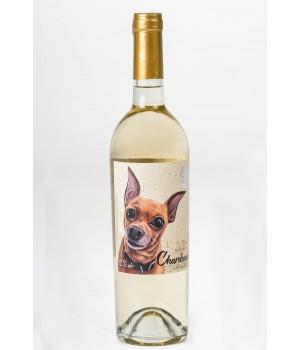 Вино Dog Smile CHARDONAY COTNAR біле сухе 0,75 л