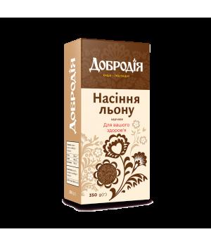 Насіння льону харчове Добродія 350 г  (4820182200564)