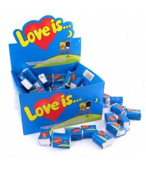 Жувальна гумка LOVE IS зі смаком банана і полуниці 4,2г x 100шт. (57027937)