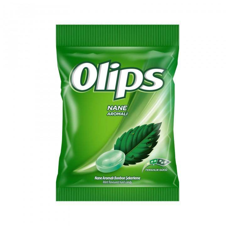 Цукерки льодяники Olips зі смаком м'яти 76г (8690515599766)