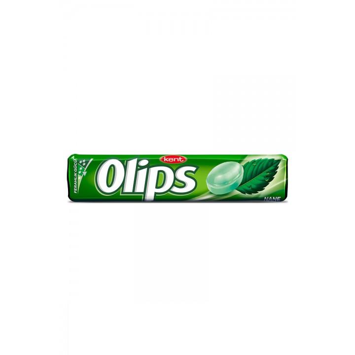 Цукерки льодяники Olips зі смаком м'яти 28г  (8690515599704)